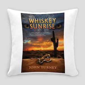 Whiskey Sunrise Everyday Pillow