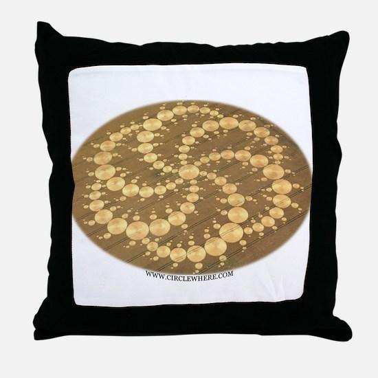 Circle Where Throw Pillow