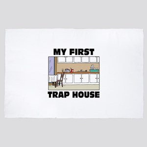 My First Trap house 4' x 6' Rug