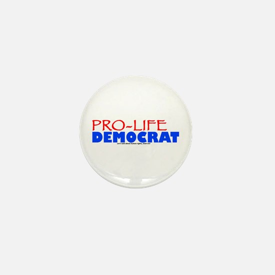 Pro-Life Democrat Mini Button