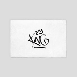 King Tag 4' x 6' Rug