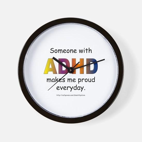 ADHD Pride Wall Clock