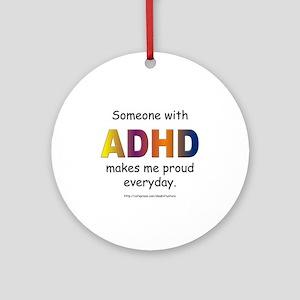 ADHD Pride Ornament (Round)