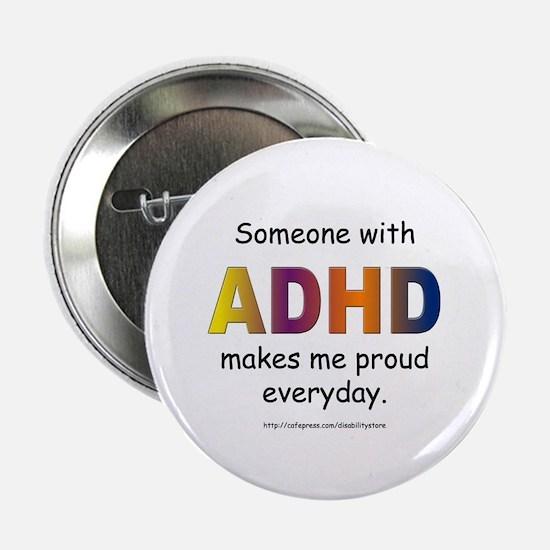 """ADHD Pride 2.25"""" Button"""