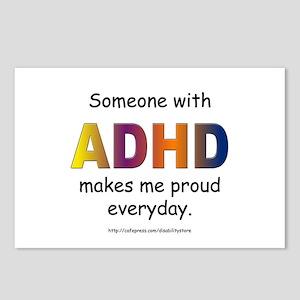 ADHD Pride Postcards (Package of 8)