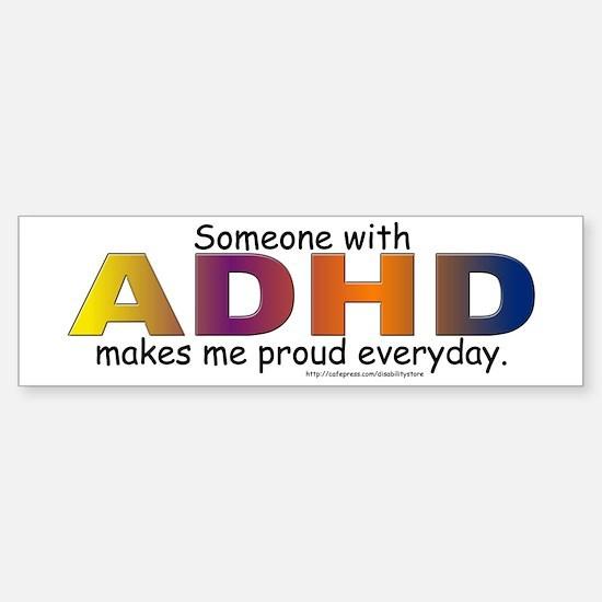 ADHD Pride Bumper Bumper Bumper Sticker