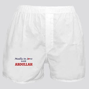 Madly in love with Abdullah Boxer Shorts