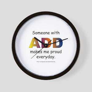 ADD Pride Wall Clock