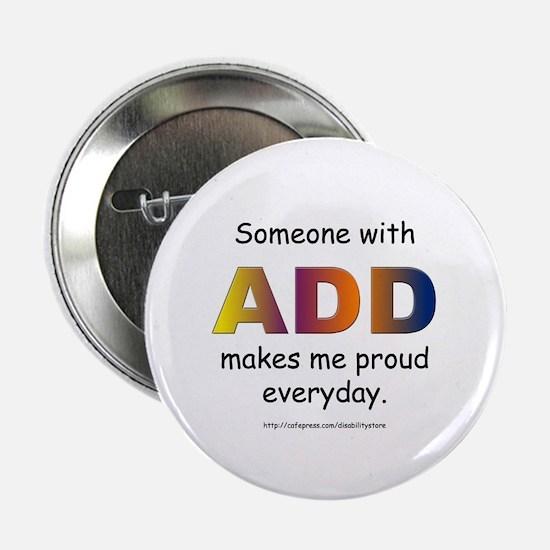 """ADD Pride 2.25"""" Button"""