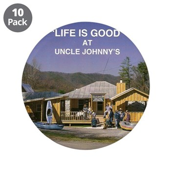 "Uncle Johnny's 3.5"" Button (10 pack)"