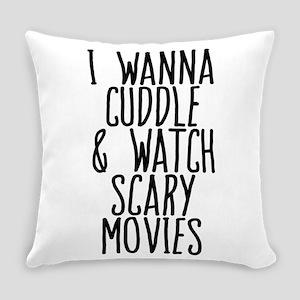 Cuddle Halloween Movies Everyday Pillow