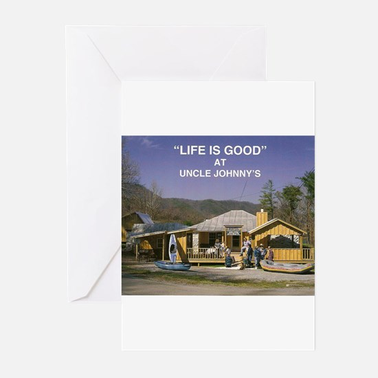 Uncle Johnny's Greeting Cards (Pk of 20)