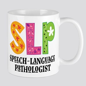 SLP Speech Pathologist Mugs