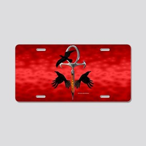 2018 Buttons 2nd level Aluminum License Plate