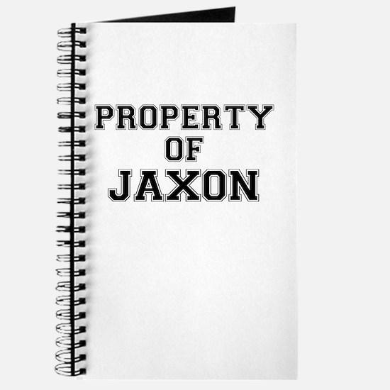 Property of JAXON Journal