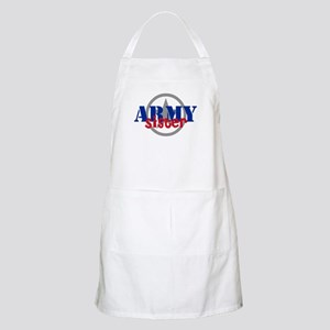 Army Sister with Star BBQ Apron