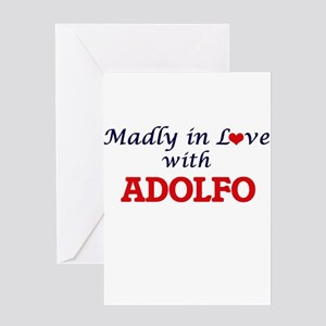 Madly in love with Adolfo Greeting Cards