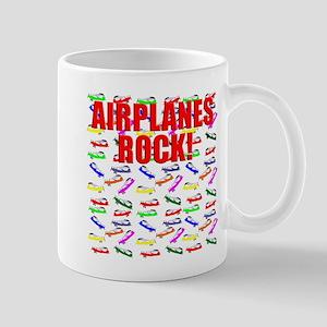 Airplane design. Mugs