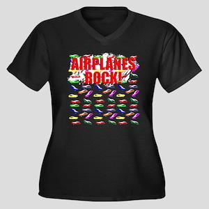 Airplane design. Plus Size T-Shirt