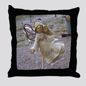 Frozen Love {Angel} Throw Pillow