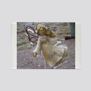 Frozen Love {Angel} Rectangle Magnet