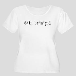 dain bramaged Women's Plus Size Scoop Neck T-Shirt