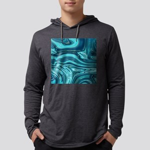 summer beach turquoise waves Long Sleeve T-Shirt