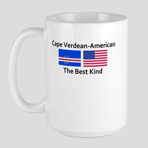Cape Verdean American-The Bes Large Mug