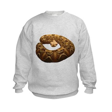 gaboon viper Kids Sweatshirt