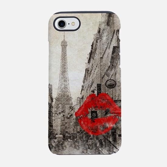 Paris landscape eiffel tower iPhone 8/7 Tough Case