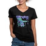 Killington Resort Women's V-Neck Dark T-Shirt