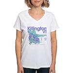 Killington Resort Women's V-Neck T-Shirt