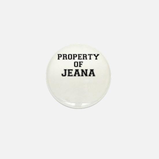 Property of JEANA Mini Button