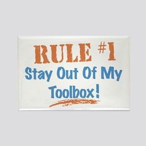 Toolbox Rules Rectangle Magnet