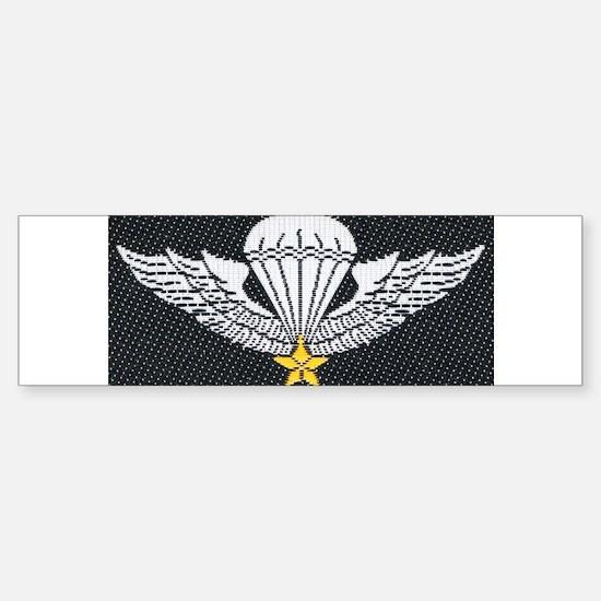 Vietnam Paratrooper Bumper Bumper Bumper Sticker
