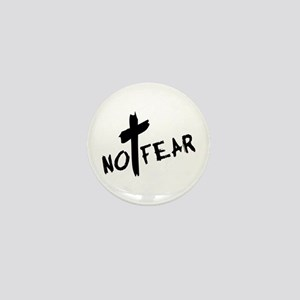 No Fear Mini Button