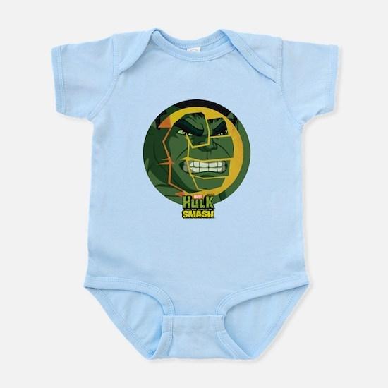Hulk Smash Baby Light Bodysuit