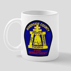 Riverside County Fire Mug