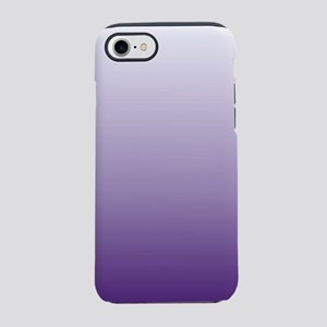 lavender lilac purple ombre iPhone 8/7 Tough Case