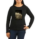 LOS POLLEO DOGOS Women's Long Sleeve Dark T-Shirt