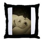 LOS POLLEO DOGOS Throw Pillow