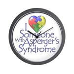 Someone w/Asperger's Wall Clock