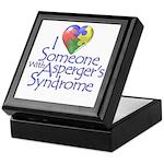 Someone w/Asperger's Keepsake Box