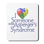 Someone w/Asperger's Mousepad
