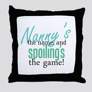 Nanny's the Name, and Spoiling's the Game! Throw P