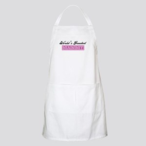 World's Greatest Nanny BBQ Apron