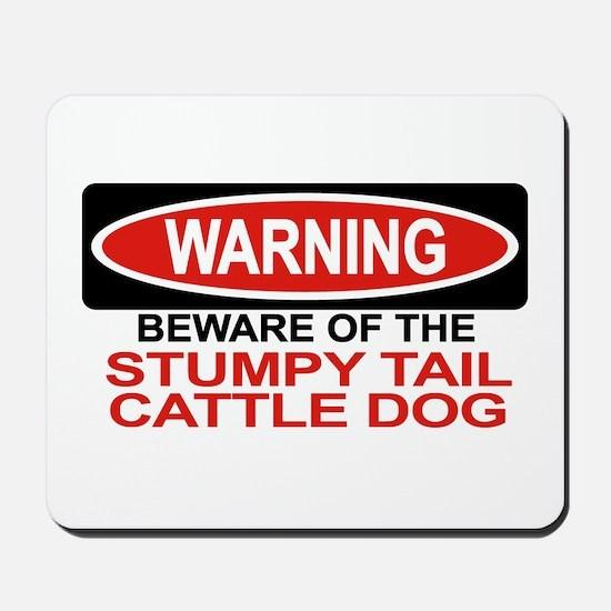STUMPY TAIL CATTLE DOG Mousepad