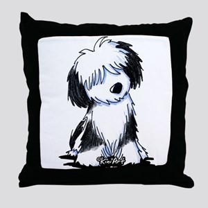 Tibetan Terrier Throw Pillow