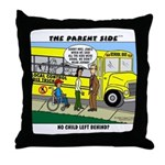 """""""No Child Left Behind?"""" Throw Pillow"""