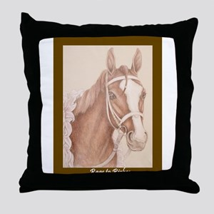 Rags To Riches Throw Pillow